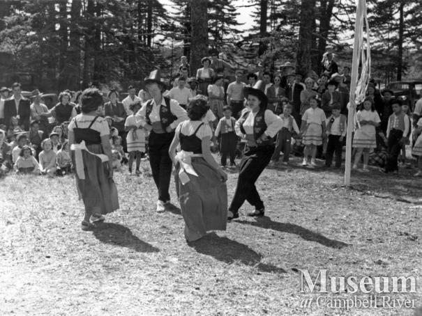 May Day on Quadra Island, 1950