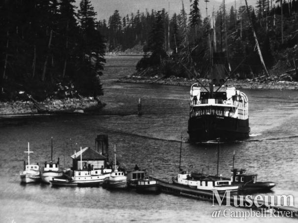 Union Steamship Boat, Chelohsin, at Granite Bay