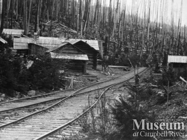Lucky Jim Mining Camp, Granite Bay, Quadra Island