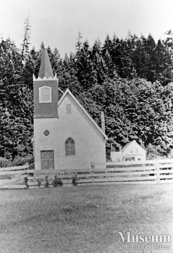 Walker Memorial Church at Cape Mudge Village, Quadra Island