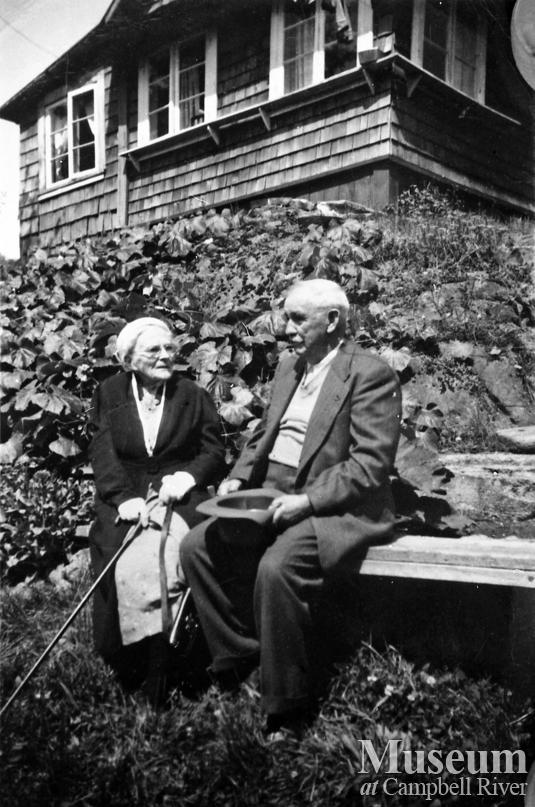 Mr. and Mrs. R.J. Walker of Quadra Island