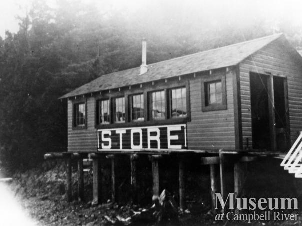 Tipton's store on Read Island, Surge Narrows