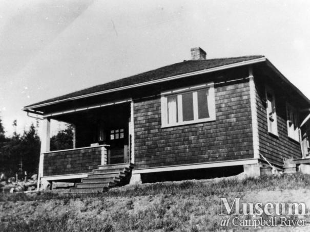 The Tipton home at Surge Narrows, Read Island