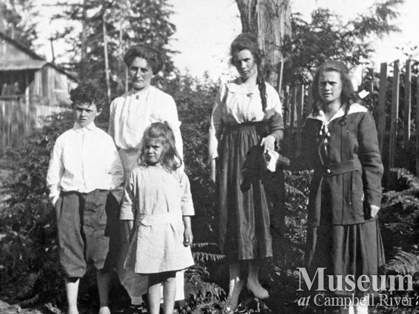 The Marquette Family on Cortes Island