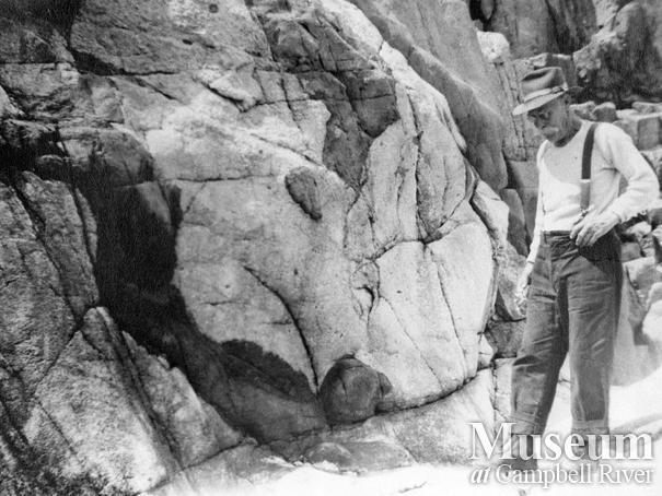 John Manson on Cortes Island