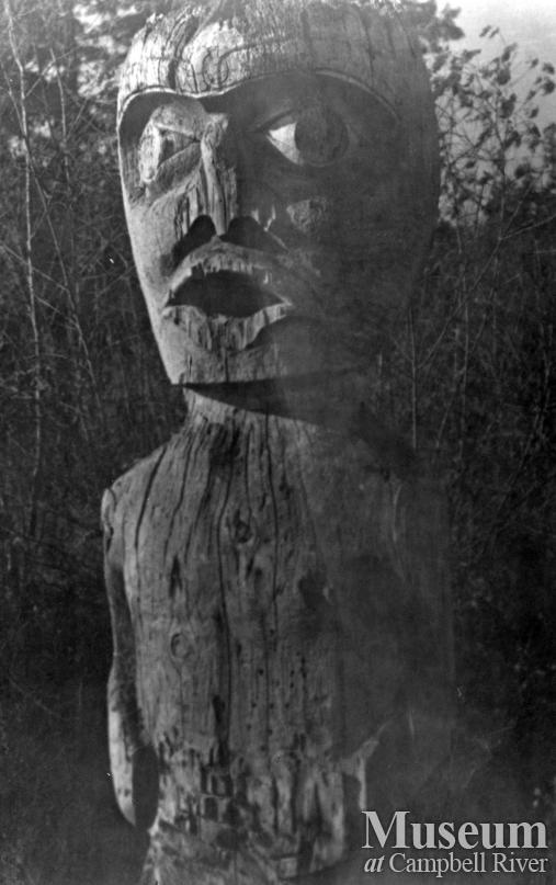 Welcome Figure at Cape Mudge, Quadra Island