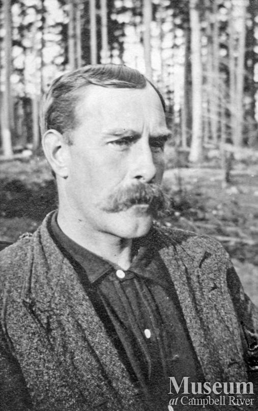 Mr. John Manson, early settler on Cortes Island