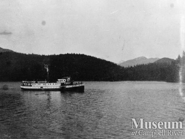 Union Steamship, Cheakamus, at Blind Channel