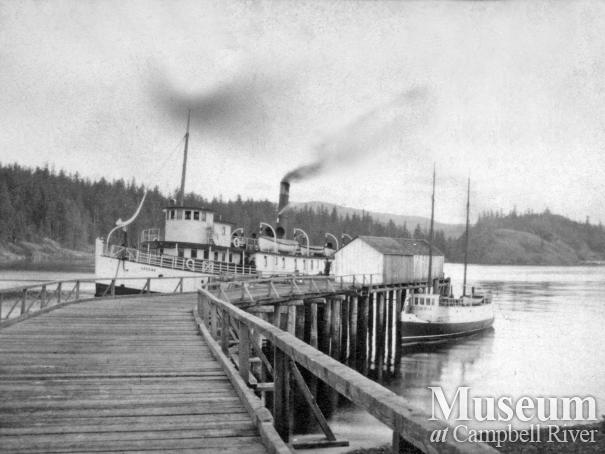 Union Steamship, Cassiar, at Heriot Bay