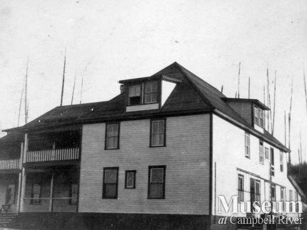 The second Heriot Bay Hotel, Quadra Island