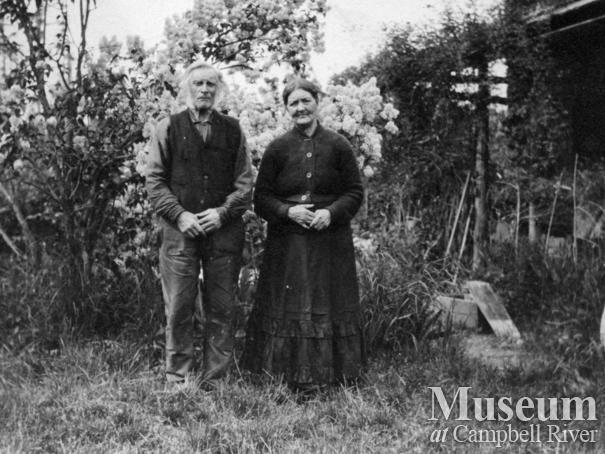Mr. and Mrs. Robert Wilson Sr. of Quadra Island