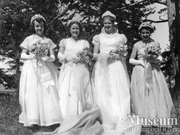 Quadra Island May Day, 1955
