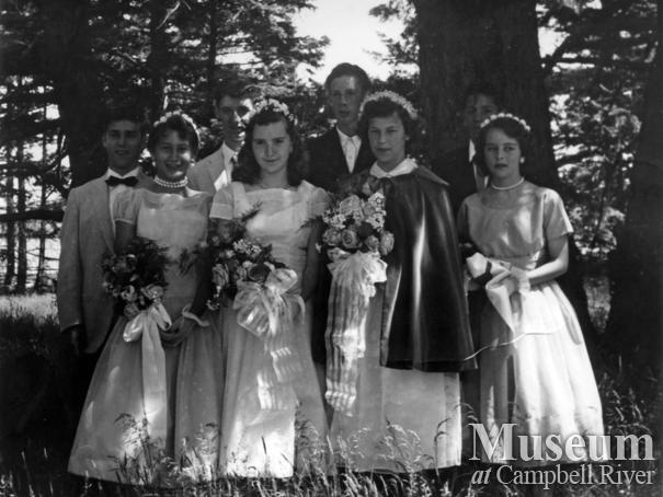 Quadra Island May Day, 1958
