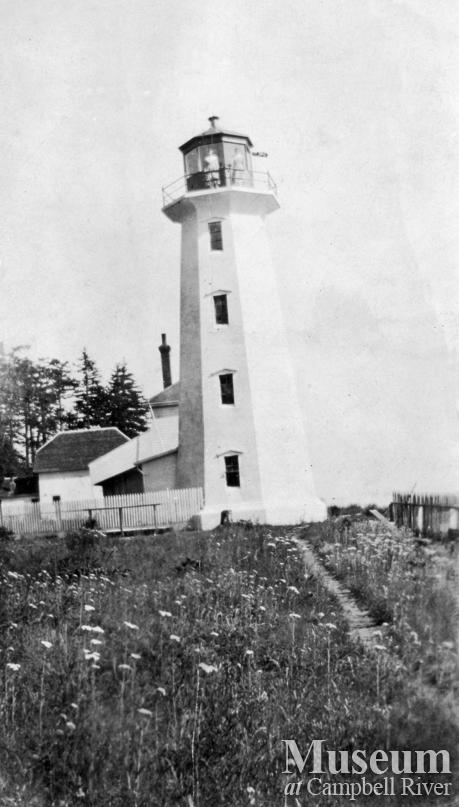 The First Lighthouse at Cape Mudge, Quadra Island