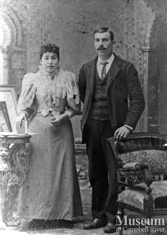 Portrait of Mr. and Mrs. Walter Joyce