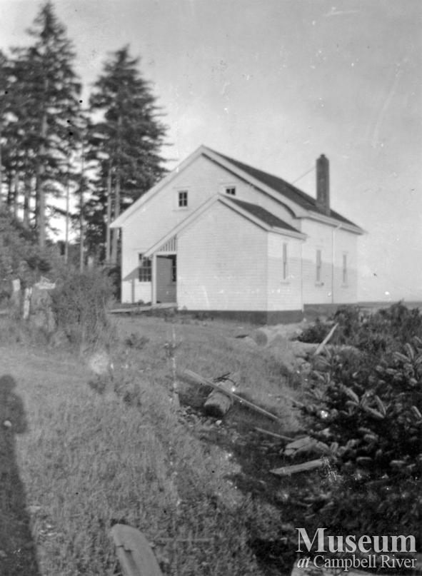 The Foghouse Building at Cape Mudge Lighthouse