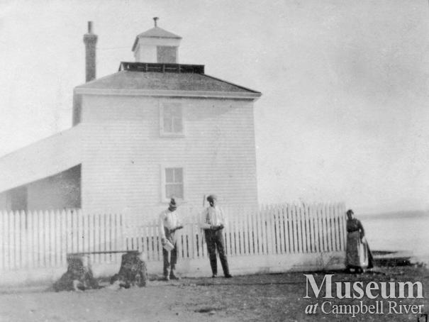 The First Lighthouse at Cape Mudge, Quadra Island