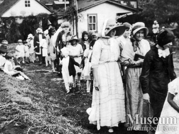 Mother Goose Day event at the Walkers' Place, Quadra Island