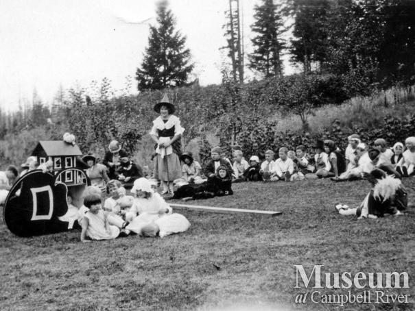 Mother Goose Day event at Walker's Place, Quadra Island