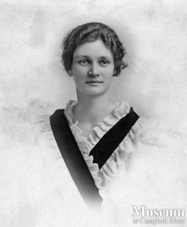 Portrait of Jeanie D. Forrester, Quadra Island