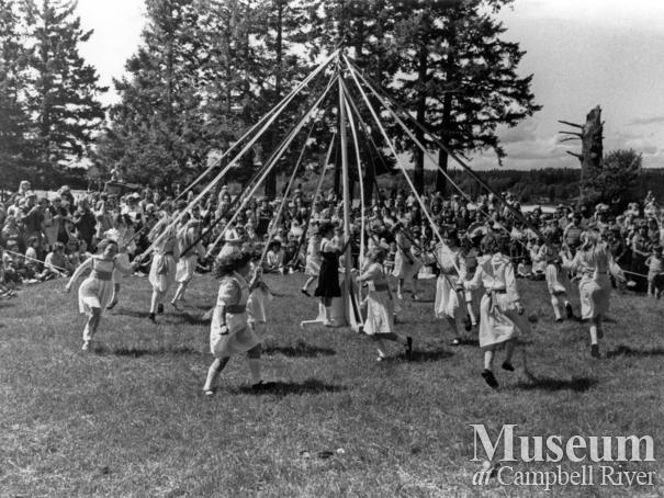 May Day on Quadra Island 1982