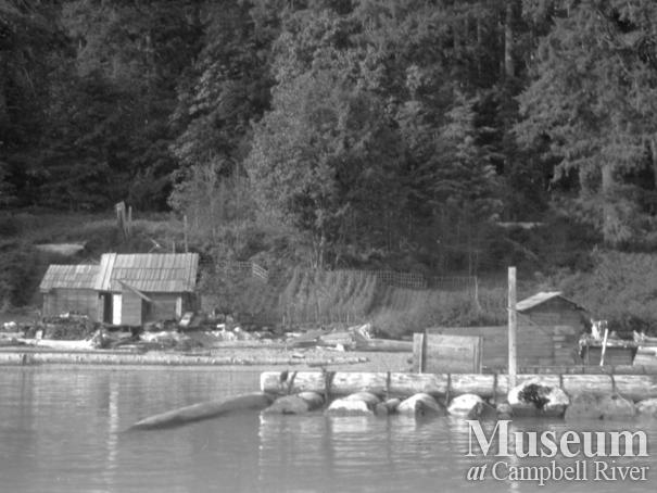 Schnarr homestead at Bute Inlet, June 1926