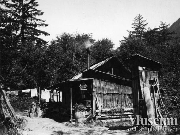 Jim and Laurette Stanton's home at  Knight Inlet, B.C.
