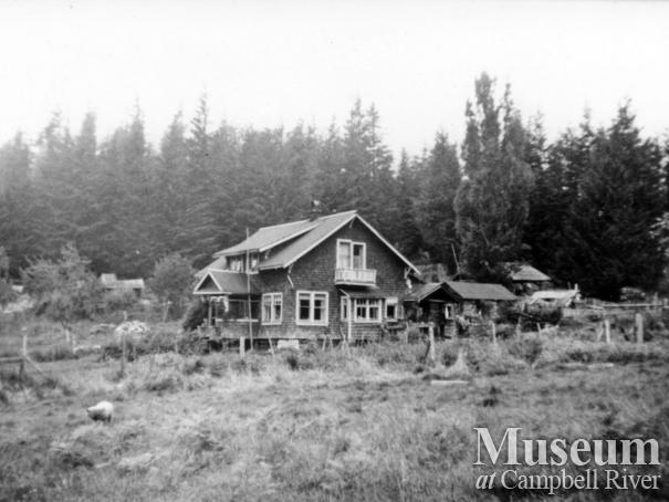 Meuhle house at Big Bay, Stuart Island