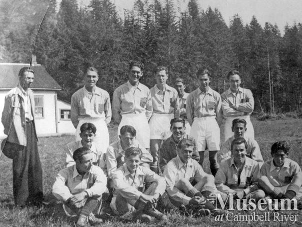 Soccer Team from the Cape Mudge Reserve, Quadra Island