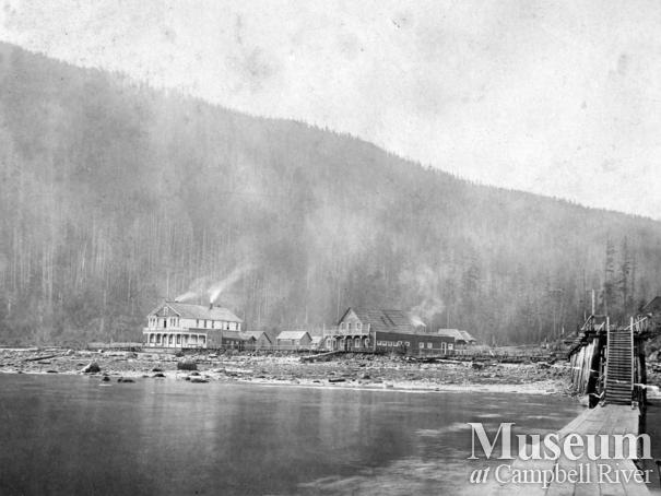 View of Shoal Bay, Thurlow Island B.C.