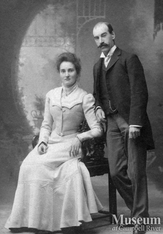 James and Ann Forrest's wedding portrait