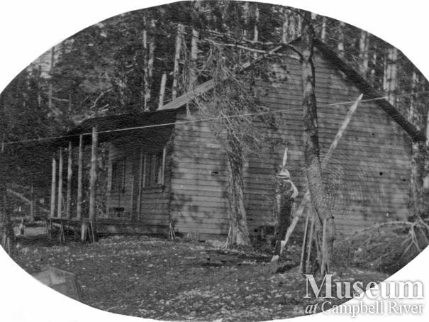 Roy Marlatt's house on Mary Island