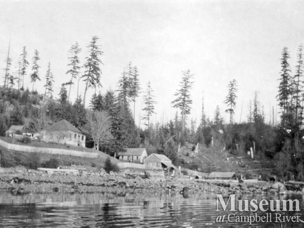 View of Whaletown, Cortes Island