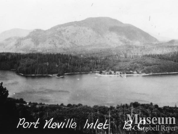 View of Port Neville, B.C.