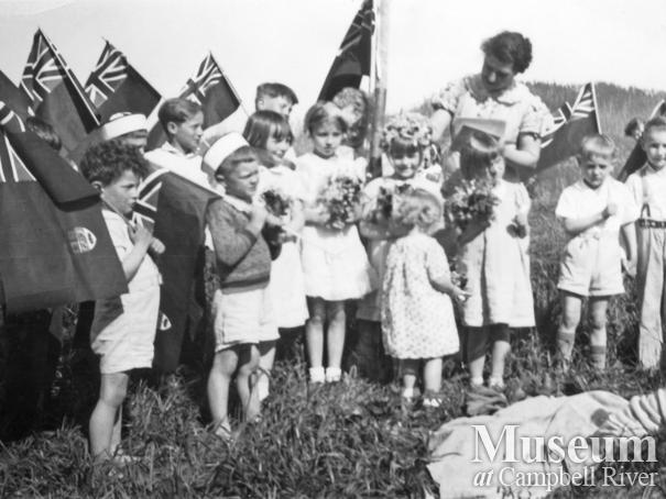 May Day celebrations at Port Neville