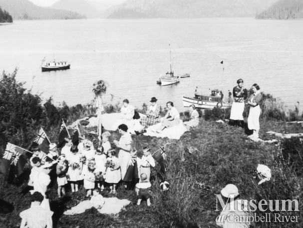 May Day celebrations at Port Neville