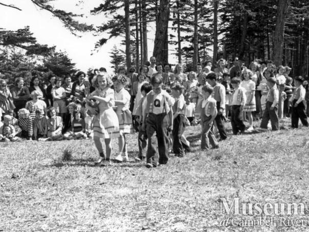 May Day on Quadra Island, 1950