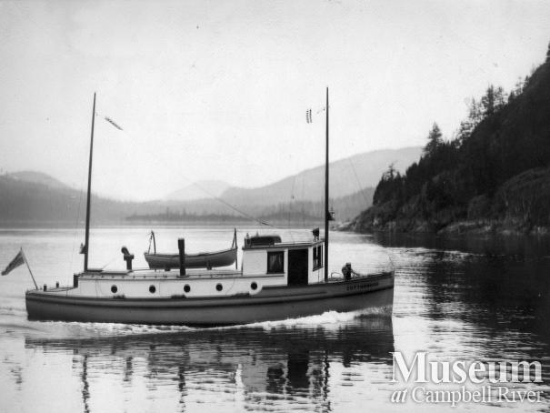 "B.C. Forest Service boat, ""Cottonwood"""