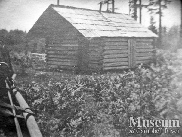 The first school on Valdez (Quadra) Island