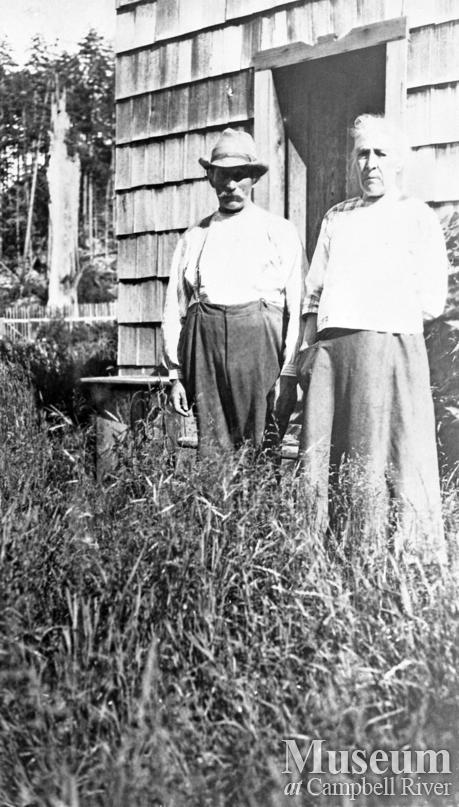 The Tiells at their home on Read Island