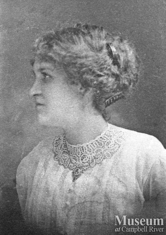 Portrait of Heriot Bay teacher, Katie Walker