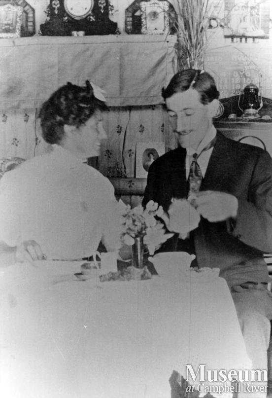 Captain and Mrs. James A. Nixon of Twin Islands