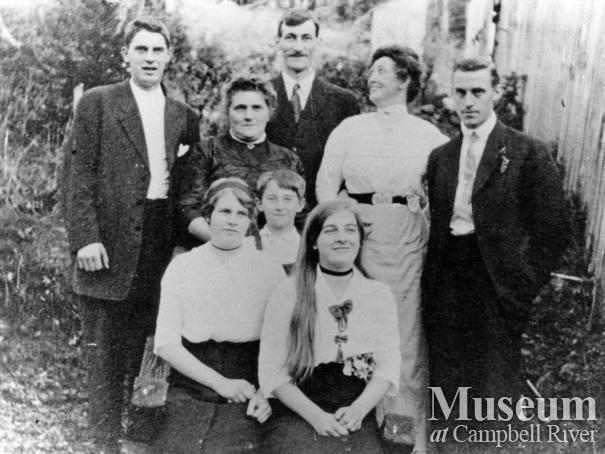 Members of the Manson family visiting at Twin Islands