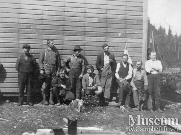 Blind Channel Cannery construction workers