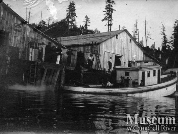 Fishing boat, Quathiaski #5, at Quathiaski Cove