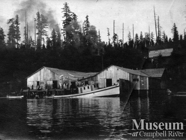 Seine Boat at Quathiaski Cove