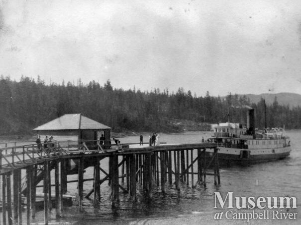 Union Steamship, Cheakamus, at Heriot Bay