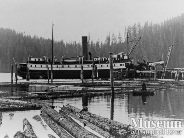Union Steamship, Camosun, at Knox Bay