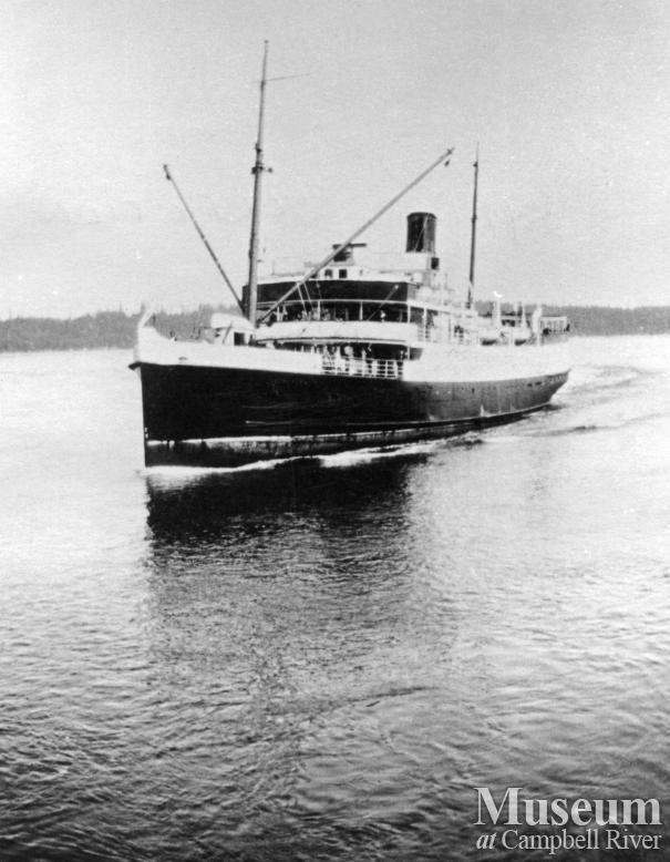 Union Steamship, the Cardena