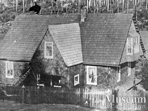Alfred Luoma's home, Granite Bay, Quadra Island